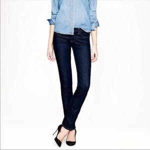 J crew matchsticks straight leg jeans
